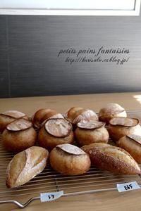 petits pains fantaisies(プチ・パン・ファンテジー) - KuriSalo 天然酵母ちいさなパン教室と日々の暮らしの事