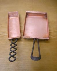 MAF柏原秀年さんの銅の卵焼き器 - 届けられたもの