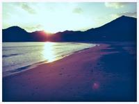 静か - 今日も渚で日が暮れて
