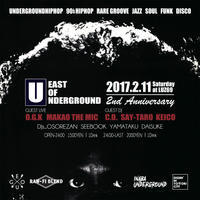 EAST OF UNDERGROUND 2nd Anniversary (2k17.2.11 @LUZ6) - 裏LUZ