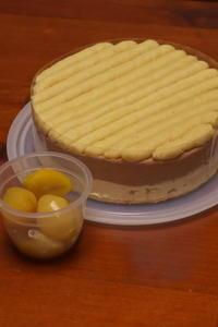 御主人のお誕生日ケーキに栗のケーキ♪ - Baking Daily@TM5