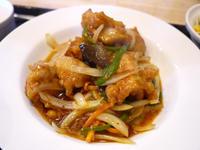 鶏から揚げと野菜の甘辛炒め定食 【茅ヶ崎 山水(サンスイ)】 - ぶらり湘南