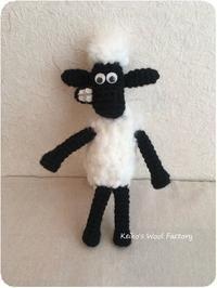あの有名な羊 - あみぐるみブログ Keiko's Wool Life
