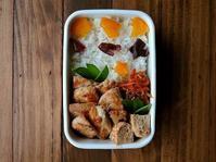 2/7(火)鶏の甘酢弁当 - おひとりさまの食卓plus