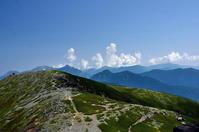 乗鞍岳登頂 - 写真の散歩道
