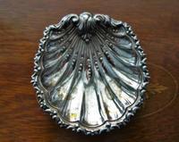 シルバープレート貝の小トレイ155  sold out! - スペイン・バルセロナ・アンティーク gyu's shop