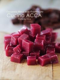 Caramel Mous aux Framboises et au Chocolat キャラメル! - Cucina ACCA
