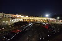 梅小路機関車館 扇形車庫ライトアップ@京都鉄道博物館 - デジタルな鍛冶屋の写真歩記