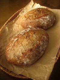 甘夏とくるみのカンパーニュ - slow life,bread life