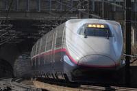 「とれいゆ」が行く③ - 新幹線の写真