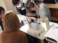 ネイルスクールtriciaで授業 - 表参道・銀座ネイルサロンtricia BLOG