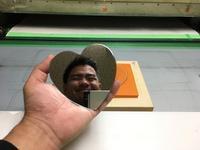 3.0㎜厚の試作抜き(ハート型) - 貼りもん屋の日常(仮)