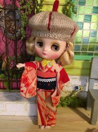 ミディのお着物を出品しました - *mllehana*のアトリエにようこそ♪