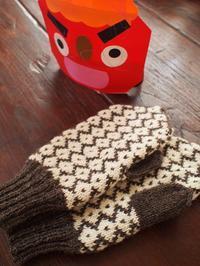 ローズポールのミトン - ペコラの編みもの