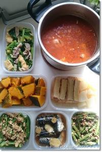 今週の常備菜☆ダンナさんが作ったものと私が作ったもの。 - 素敵な日々ログ+ la vie quotidienne +