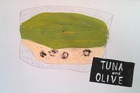 POTASTAサンドイッチ - たなかきょおこ-旅する絵描きの絵日記/Kyoko Tanaka Illustrated Diary