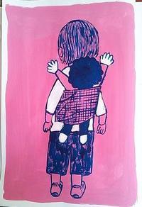 小さい人の絵 - たなかきょおこ-旅する絵描きの絵日記/Kyoko Tanaka Illustrated Diary