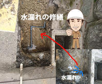 上水道が漏れているよぉ~ - 西村電気商会|東近江市|元気に電気!