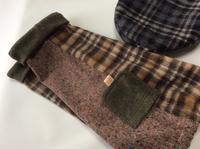 服もふふっこ付けてみた - 帽子工房 布布