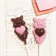 イチゴ&スィートのブタさんチョコ♪ - Sweedry*