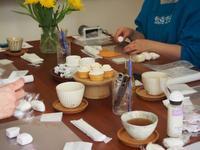 【レッスンレポ】launa × 小さなおうち cafe Fika - パンとアイシングクッキー、マシュマロフォンダントの教室 launa