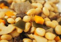 大豆の五目煮 - お茶の水調理研究所