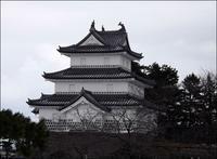 三匹の鯱を据える櫓 - じょんのび