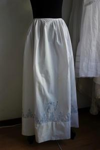 コットンロングスカート45 sold out! - スペイン・バルセロナ・アンティーク gyu's shop