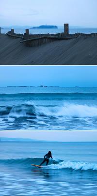 2017/02/09(THU) 分厚い雨雲に覆われた朝です。 - SURF RESEARCH