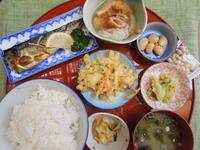 塩焼鯖★(^^♪・・・・・700円ランチ - 日だまりカフェ