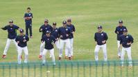 2/8キャンプ、内野総合守備練習(挟殺・連係プレー)動画3本 - Out of focus ~Baseballフォトブログ~