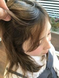 前髪矯正は自然にね(^_-)-☆ - 浜松市浜北区の美容室 SKYSCAPE(スカイスケープ) 店長の鶸田(ひわだ)のブログです