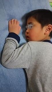 5歳寝顔 - ~ワンパク五歳児子育て中~