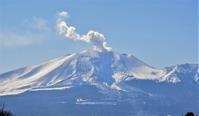 今月の草津 … 浅間山の噴煙が増えています - ヒデさんの山遊び