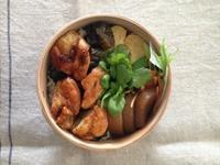 鶏の照り焼き弁当2/10 - kedi