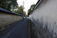 奈良市 歩きすがら 赴きある塀(知事公舎あたり) - ぶらり記録(写真) 奈良・大阪・・・