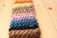 刺し子用に、草木染めの糸 - キラキラのある日々