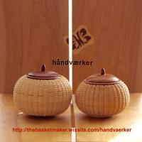 Pumpkin 2種 - handvaerker ~365 days of Nantucket Basket~