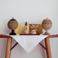 Hina Doll and BONBORI - handvaerker ~365 days of Nantucket Basket~