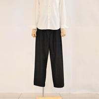 < LAITERIE > C/Wワイドテーパードパンツ (ladies) - clothing & furniture 『Humming room』