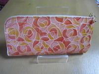 薔薇の長財布&調布まちゼミプチ第2回 - おしゃべりうさぎ