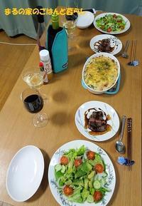 ステーキときのことベーコンのドリア  - まるの家のごはんと暮らし