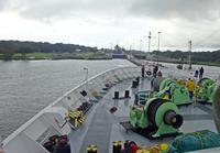 地球一周クルージング: パナマ運河航行 - 折々の記