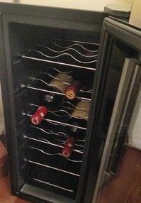 ワインセラーが壊れちゃった… - ゴローザ通信