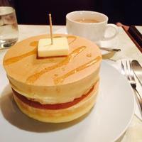 純喫茶deホットケーキ♪「ニット」 - ハレクラニな毎日Ⅱ