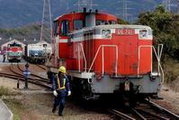 非日常な入換え。 - 山陽路を往く列車たち