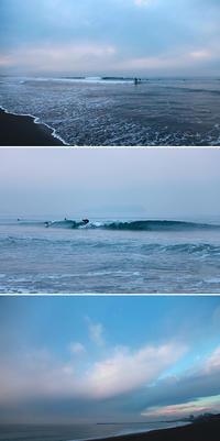 2017/02/10(FRI) 小雨だんだんと青空が出始めました。 - SURF RESEARCH