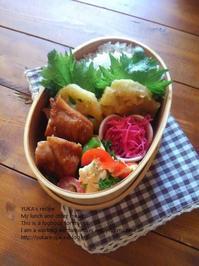 2.10 照り焼きチキンの親子弁当 - YUKA'sレシピ♪