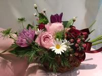 3月28日のデザインレッスン - ~ Flower Shop D.STYLE ~ (新所沢パルコ・Let's館1F)