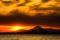 29年2月の富士(5)海越しの富士 - 富士への散歩道 ~撮影記~